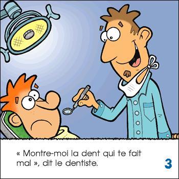 Si vous êtes plombés ce ne sera pas à cause de mon quiz, mais de la responsabilité de votre dentiste ! Pourquoi ?