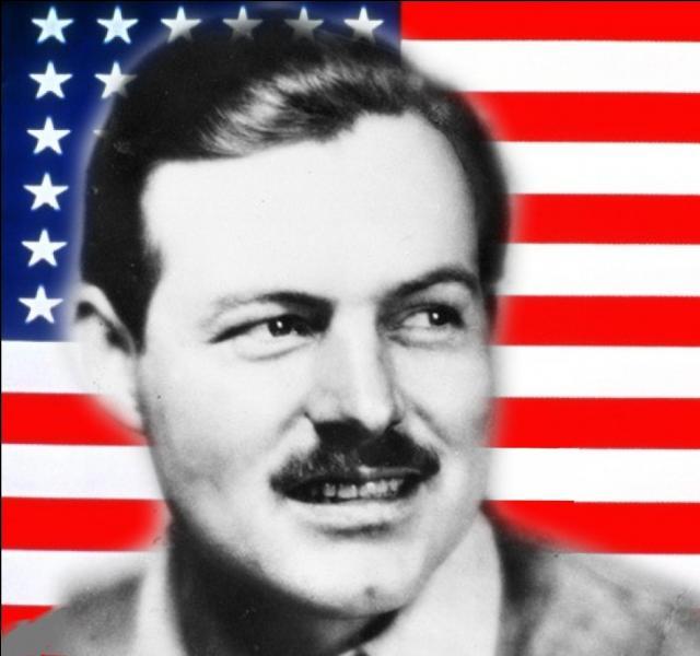 Son style d'écriture était caractérisé par l'économie et la litote. la Première Guerre mondiale a servi de fondement à son roman  L'Adieu aux armes ...