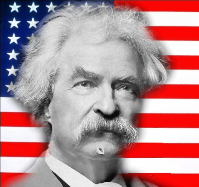 De son vrai nom Samuel Langhorne Clemens, il se fit connaître par son roman   Les Aventures de Tom Sawyer   en 1876...