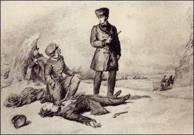 Quel écrivain russe est l'auteur du roman en vers  Eugène Onéguine  ?