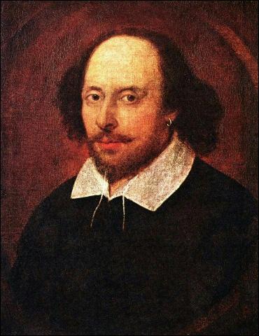 En quelle année l'écrivain anglais William Shakespeare, auteur de  Hamlet , est-il mort ?