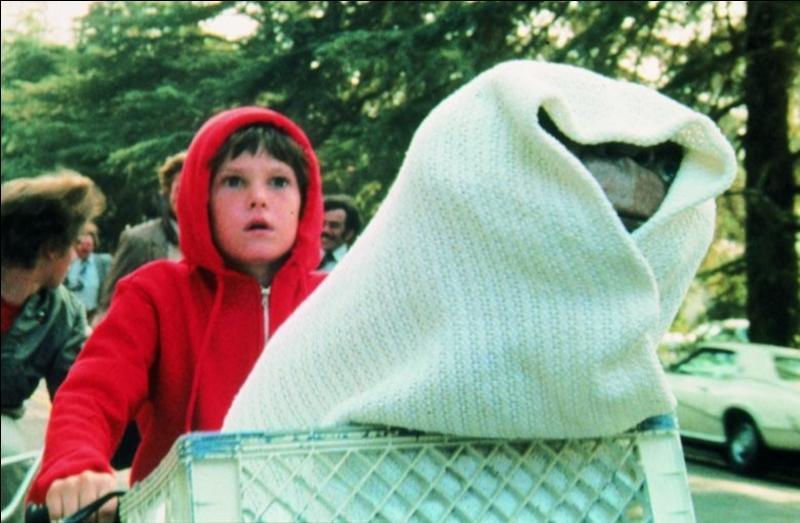 Vous connaissez tous la réplique de ce petit bonhomme (façon de parler) bizarre, venant d'ailleurs. Vous connaissez bien, aussi, ce gosse qui le protège et fait tout ce qu'il peut pour qu'il puisse rentrer chez lui ! Film culte de 1982, quel est-il ?