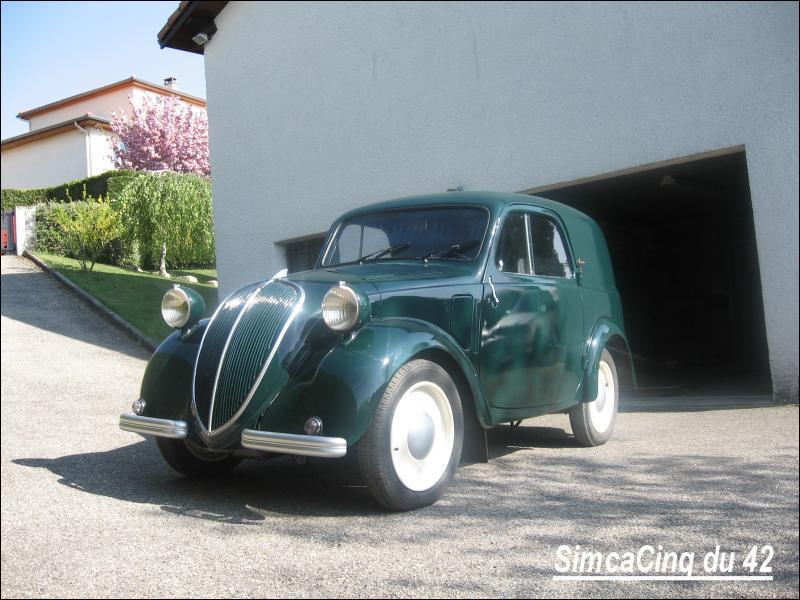 Connaissez-vous cette ancienne Simca ? C'est une...