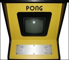 Qu'utilisaient à l'écran les joueurs pour jouer à Pong ?