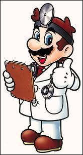 Avec quels objets Dr. Mario combat-il les immondes virus bleus, jaunes et rouges ?