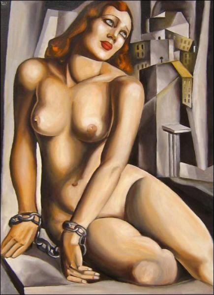 A quel artiste d'origine polonaise devons-nous cette   Andromède   de facture néo-cubiste ?