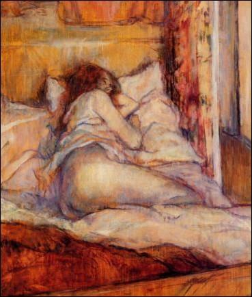 Véritable obsédé sexuel, mais s'assumant complètement en tant que tel, quel peintre de la fin du XIXème est l'auteur de ce tableau ?