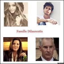 Comment s'appellent les membres de cette famille ? (Dans l'ordre de haut en bas, de gauche à droite)