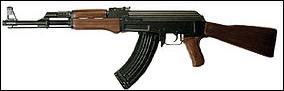 Combien de balles peut compter le chargeur d'un AK-47 ?