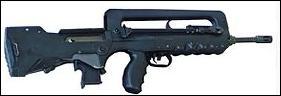 Combien de balles peut contenir le chargeur d'un FAMAS F1 ?