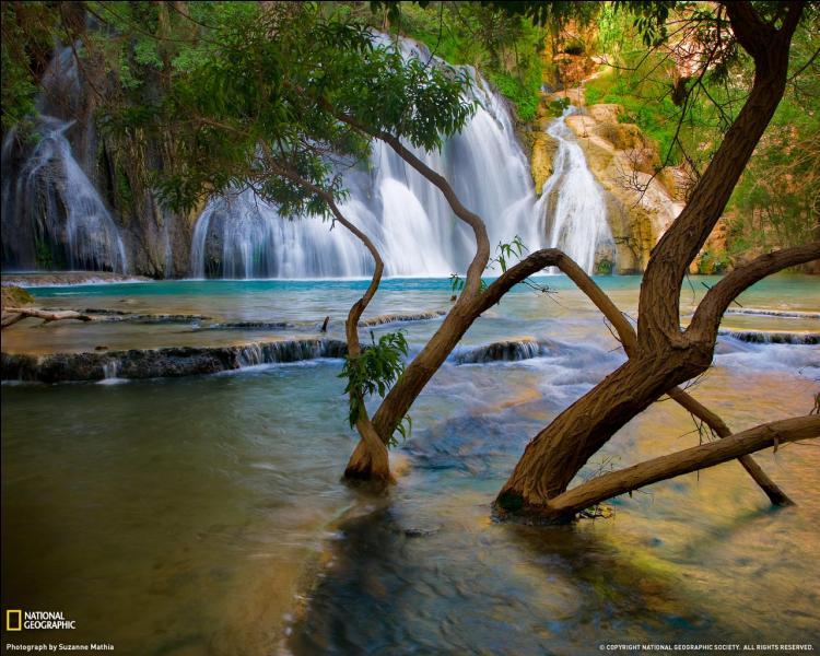 Dans quel état des Etats-Unis peut-on admirer cette merveille de la nature : Havasu Creek ?