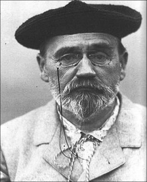 Quel est le nom de cet écrivain français ?