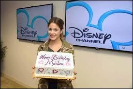Quelle est la date d'anniversaire de Martina Stoessel ?