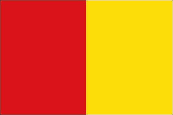 Quel drapeau appartient ce chef-lieu de la province de Liège