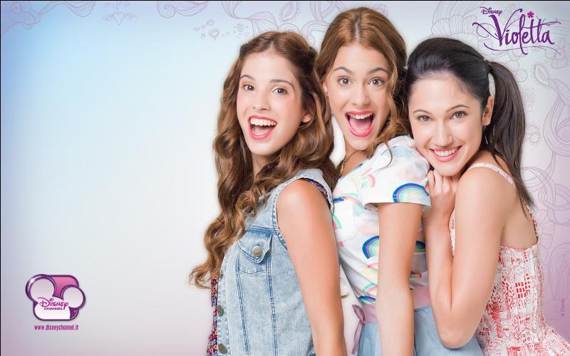 Quelles sont les meilleures amies de Violetta ?