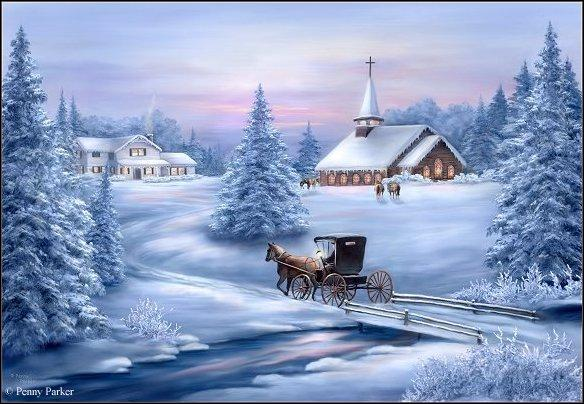 Quand on a l'hiver avant Noël, ... .