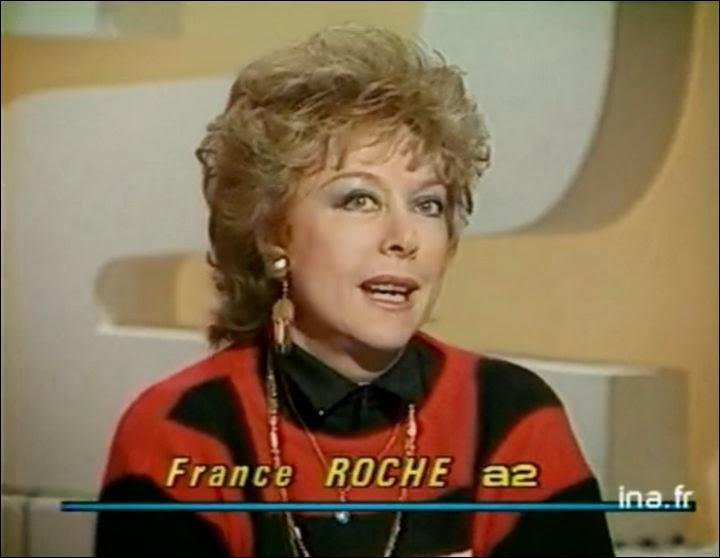 Est-ce que  France Roche , élégante femme de télévision, est toujours de ce monde (16 décembre 2013) ?