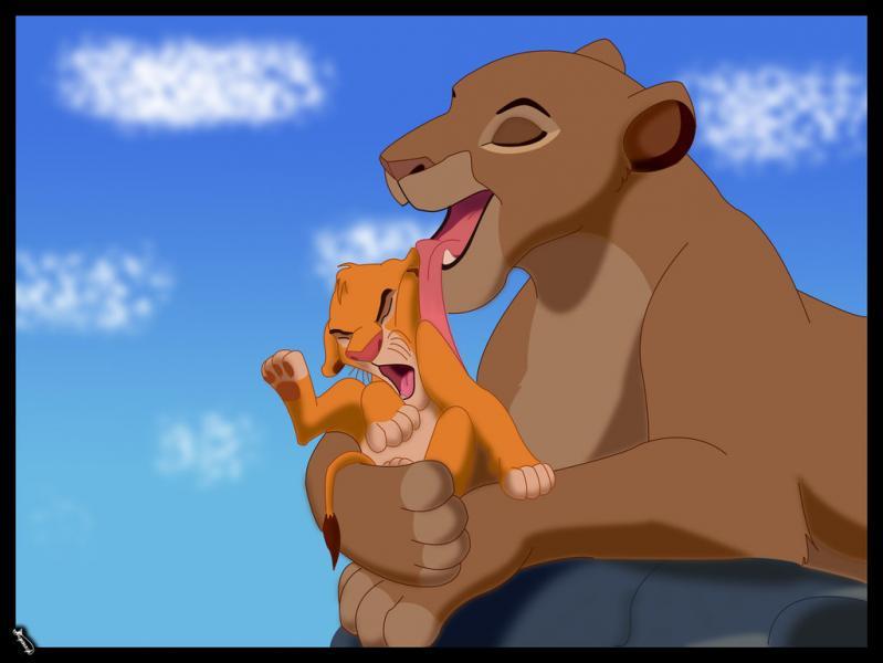 Comment s'appelle la maman de Simba ?