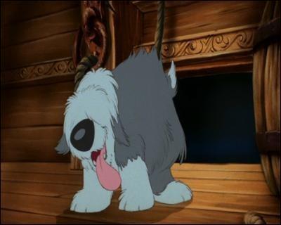 Quel est le nom du chien d'Eric dans La petite sirène ?