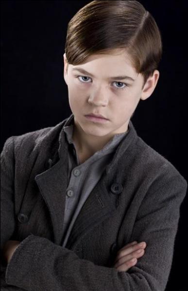 Dans le film, le premier souvenir que Dumbledore montre à Harry concernant Voldemort est l'enfance de celui-ci... Mais dans le livre, il remonte beaucoup plus loin en montrant :