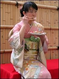 Au Japon, la nourriture que tout le monde mange est :
