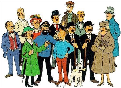 Dans quel album peut-on trouver cette suite de péripéties : Tintin refuse une invitation - il retrouve un vieil  ami  - il négocie un contrat avec un militaire - il sauve des innocents :