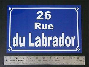 De la rue du Labrador à Moulinsart, jusqu'à l'hôtel des sommets. Qu'est-ce qui a parcouru ce chemin ?