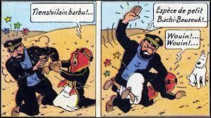 Comment Haddock a-t-il réussi à retrouver Tintin à la fin de  L'or noir  ?