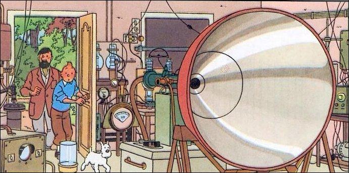 Qui désire plus que tout s'approprier une invention du professeur Tournesol ?