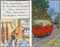 Quel numéro devrez-vous demander pour joindre le capitaine à Moulinsart ? (et surtout pas la boucherie Sanzot ! )