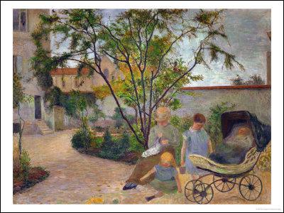 Comment s'appelle ce tableau peint en 1881 et exposé à Copenhague ?