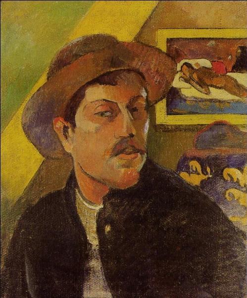 Où pouvez-vous voir, cette toile connue sous le nom d'  Autoportrait au chapeau  peinte en 1893 ?