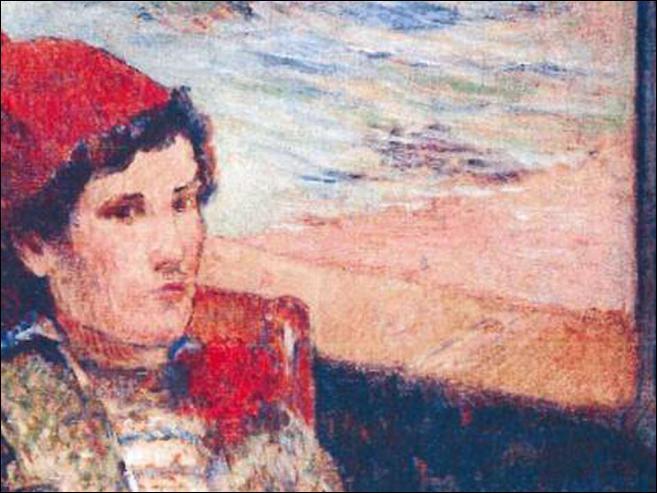 Qui a peint Femme devant une fenêtre ouverte ?
