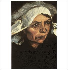 Qui a peint Tête de paysanne au bonnet blanc ?