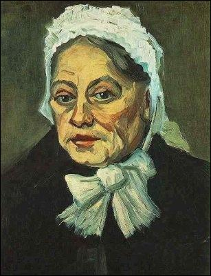 Qui a peint Vieille dame au bonnet blanc ?