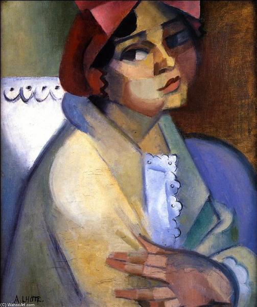 Qui a peint Femme avec un bonnet ?