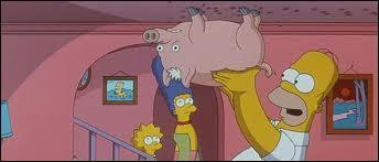 Comment s'appelle le cochon d'Homer ?
