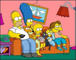 Qui est à la place de Bart sur le canapé ?
