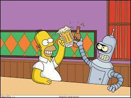 Qui est avec Homer Simpson ?