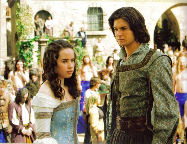 Qu'est - ce - qu'il se passe à ce moment pour que Susan et le prince Caspian fasse cette tête ?