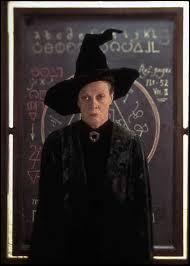 Enfin, même question mais pour Minerva McGonagall.