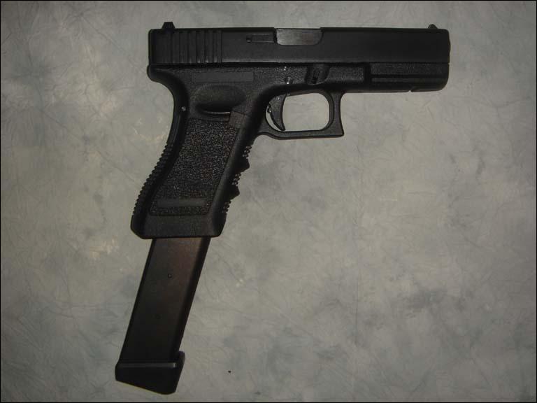 Comment s'appelle ce pistolet