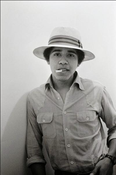 C'est une photo qui date un peu, qui aurait imaginé à l'époque le destin qu'allait connaître ce jeune homme ?