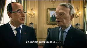 Complétez la chanson des Guignols où François Hollande chante :  Y'a même plus un seul CDD...
