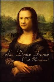 Même si François Hollande s'est caché derrière ce tableau, vous l'avez reconnu, c'est le tableau  La Joconde  de :