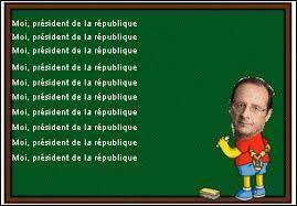 À qui François Hollande a-t-il pris la place sur cette image ?