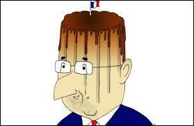 Quel ministre du gouvernement sous François Hollande a comparé ce dernier à un Flanby ?