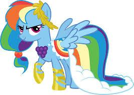 My Little Pony : Rainbow dash
