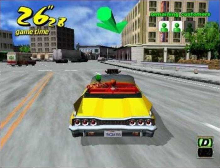 Qui a édité Crazy Taxi ?