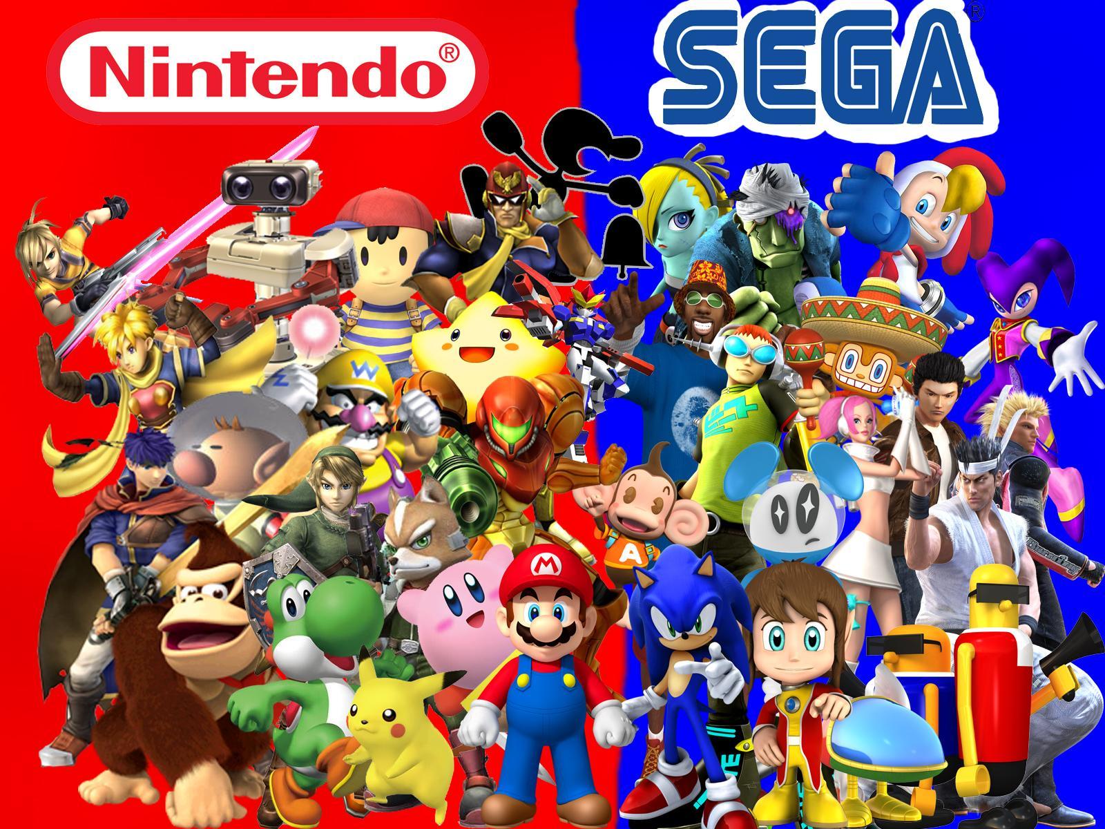 Jeux vidéo : Sega ou Nintendo